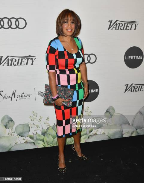 Journalist Gayle King attends Variety's Power Of Women New York presented by Lifetime at Cipriani Midtown on April 5 2019 in New York City