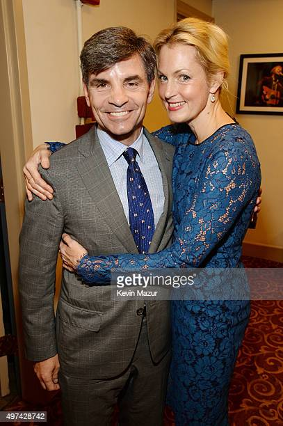 Journalist George Stephanopoulos and actress Ali Wentworth attend as Baby Buggy celebrates 15 years with 'An Evening with Jerry Seinfeld and Amy...