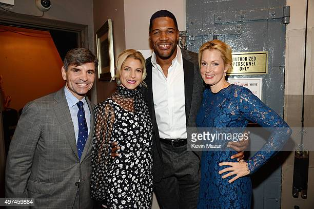 Journalist George Stephanopoulos Baby Buggy Founder Jessica Seinfeld Former professional football player/television personality Michael Strahan and...