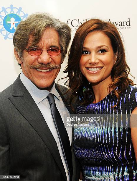 Journalist Geraldo Rivera and wife Erica attend the 15th Annual World Of Children Awards Ceremony at 583 Park Avenue on October 25 2012 in New York...