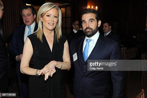 Journalist Gerri Willis and Publisher of Haute Living Haute Time Magazine Seth Semilof attend Haute Residence New York Luxury Real Estate Summit 2015...