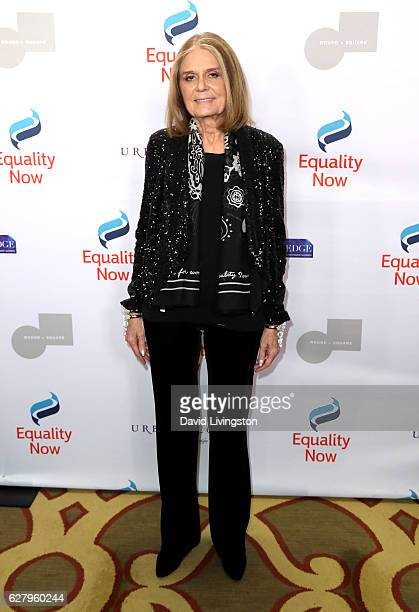 Journalist Gloria Steinem arrives at Equality Now's 3rd Annual Make Equality Reality Gala at Montage Beverly Hills on December 5 2016 in Beverly...