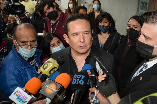 MEX: Gustavo Adolfo Infante Testifies At Mexico City Attorney's Office