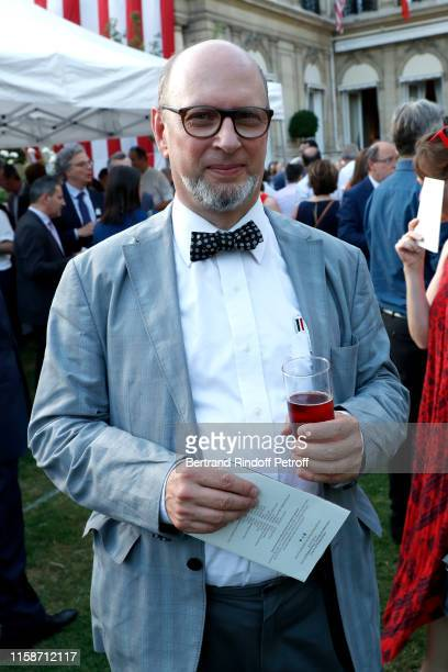 Journalist Harold Hyman attends US Embassy celebrates America's 243rd Independence Day and 50th Anniversary of the First Man on the Moon Held at US...