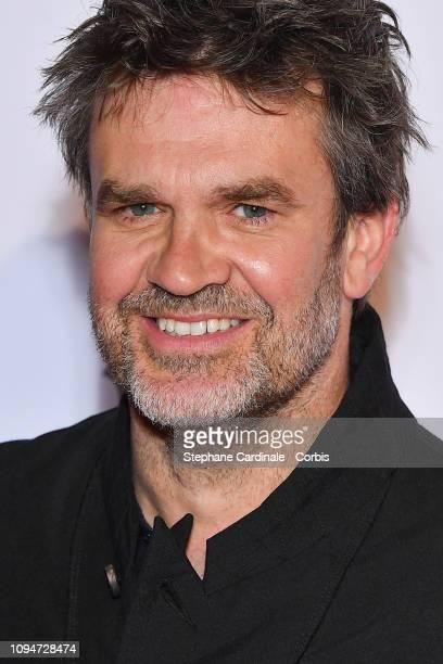 Journalist Herve Mathoux attends 'Yao' Paris Premiere at Le Grand Rex on January 15 2019 in Paris France