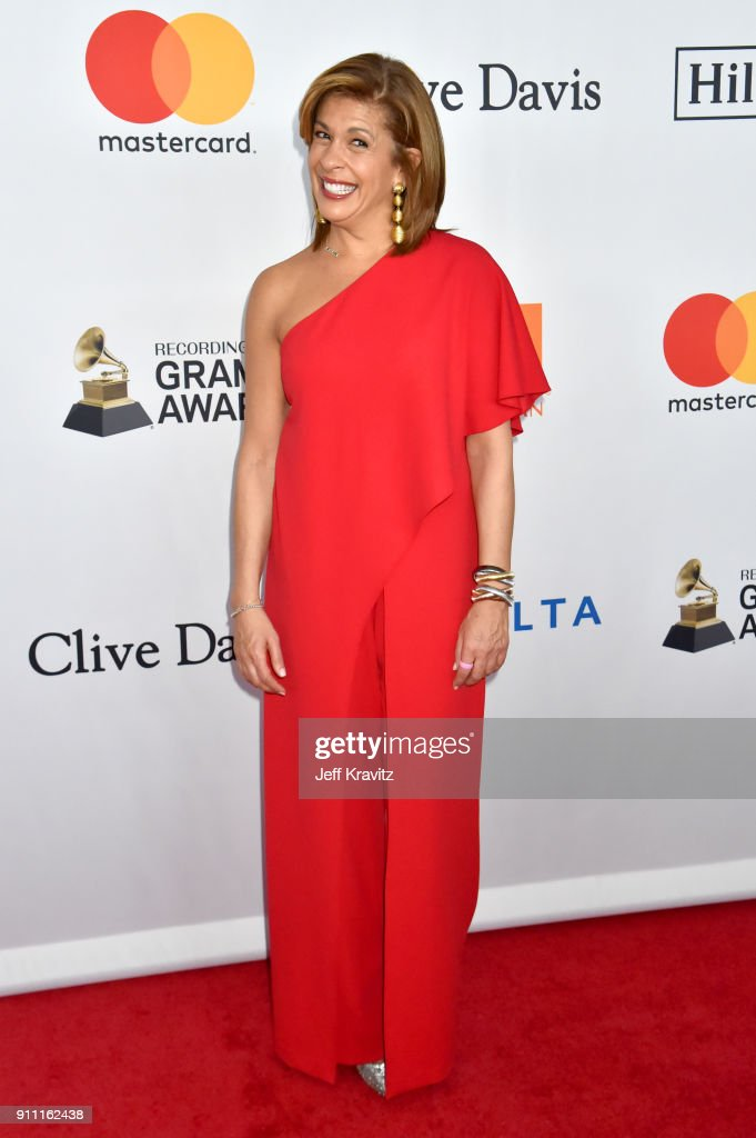 Journalist Hoda Kotb attends the Clive Davis and Recording Academy Pre-GRAMMY Gala and GRAMMY Salute to Industry Icons Honoring Jay-Z on January 27, 2018 in New York City.