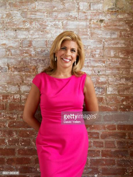 Journalist Hoda Kotb is photographed for USA Weekend in 2011