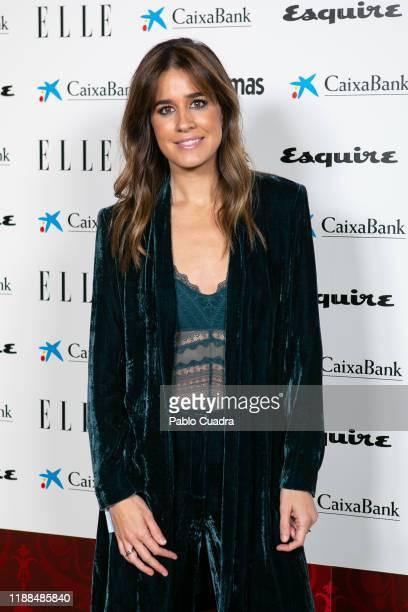Journalist Isabel Jimenez attends 'NocheConAlma' charity dinner on November 18 2019 in Madrid Spain