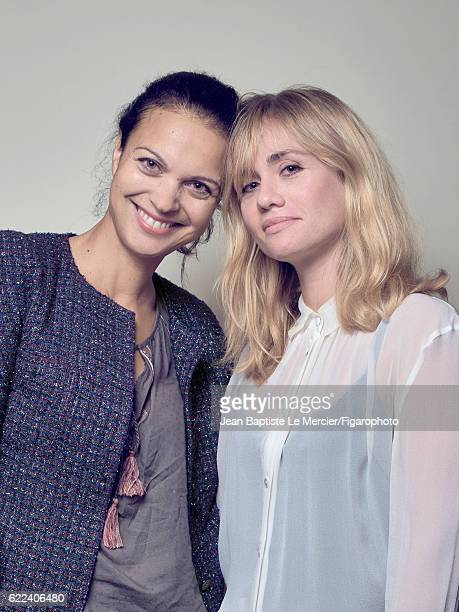 Journalist Isabelle Giordano and film director Katell Quillevere are photographed for Madame Figaro on September 8 2016 at the Toronto Film Festival...