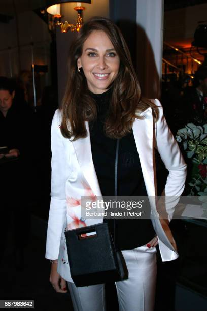 Journalist Isabelle Ithurburu attends the Annual Charity Dinner hosted by the AEM Association Children of the World for Rwanda at Pavillon Ledoyen on...