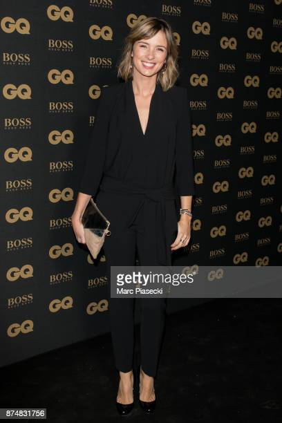 Journalist Isabelle Ithurburu attends the 'GQ Men of the year awards 2017' at Le Trianon on November 15 2017 in Paris France
