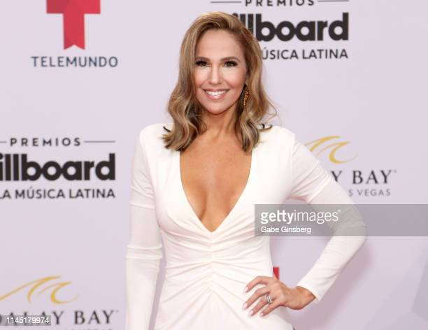 Journalist Ivette Machin attends the 2019 Billboard Latin Music Awards at the Mandalay Bay Events Center on April 25 2019 in Las Vegas Nevada