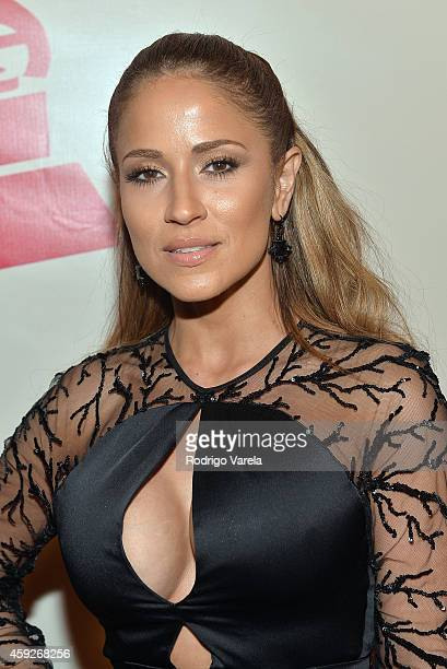 Journalist Jackie Guerrido attends the 2014 Person of the Year honoring Joan Manuel Serrat at the Mandalay Bay Events Center on November 19 2014 in...