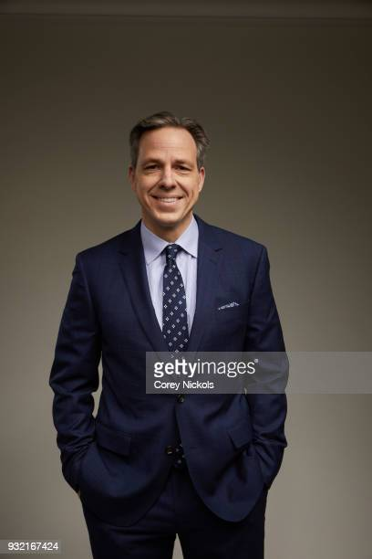Journalist Jake Tapper poses for a portrait in the Getty Images Portrait Studio Powered by Pizza Hut at the 2018 SXSW Film Festival on March 9 2018...