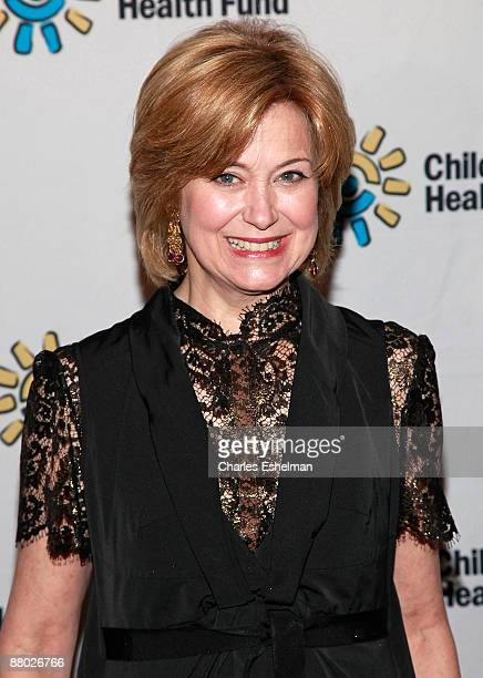 TV journalist Jane Pauley attends the 2009 Children's Health Fund benefit at the Sheraton New York Hotel Towers on May 27 2009 in New York City