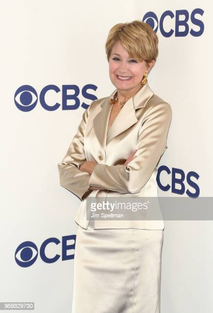 Journalist Jane Pauley attends the 2018 CBS Upfront at The Plaza Hotel on May 16 2018 in New York City