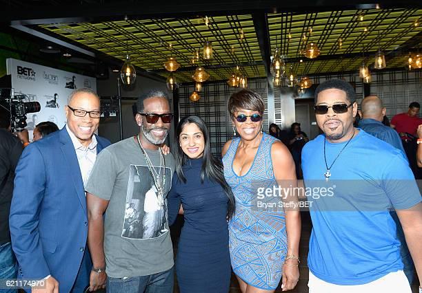 ESPN journalist Jay Harris singer Nathan Morris of Boyz to Men professional golfer/fashionista Seema Sadekar actress Dawnn Lewis and singer Wayne...