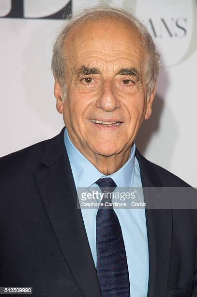 Journalist JeanPierre Elkabbach attends the 'Air France Madame' 30th Anniversary at Le Ritz Hotel on June 28 2016 in Paris France