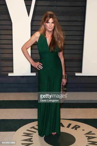 Journalist Jemima Goldsmith attends the 2017 Vanity Fair Oscar Party hosted by Graydon Carter at the Wallis Annenberg Center for the Performing Arts...
