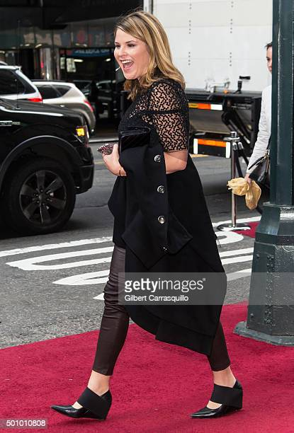Journalist Jenna Welch Bush Hager attends Billboard's 10th Annual Women In Music at Cipriani 42nd Street on December 11, 2015 in New York City.