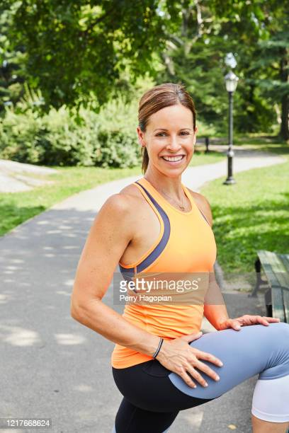Journalist Jenna Wolfe is photographed for Woman's Day Magazine on July 19, 2017 in New York City. PUBLISHED IMAGE.