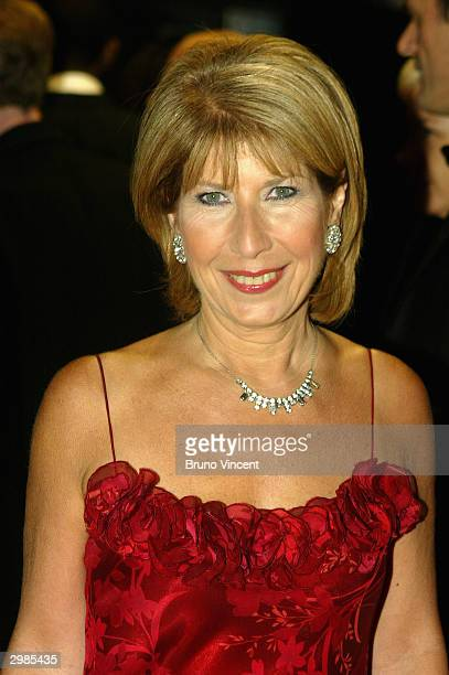 Journalist Jenny Bond arrives at the 'The Orange British Academy Film Awards' at The Odeon Leicester Square on February 15 2004 in London Nighy is...