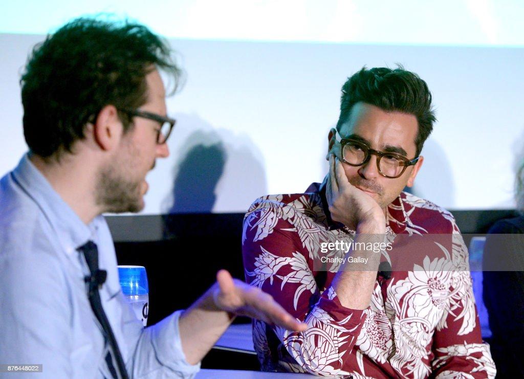 Journalist Jesse David Fox and actor/producer Dan Levy speak