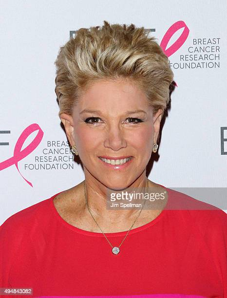 Journalist Joan Lunden attends the 2015 BCRF Awards Gala at The Waldorf=Astoria on October 29 2015 in New York City