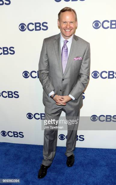 Journalist John Dickerson attends the 2018 CBS Upfront at The Plaza Hotel on May 16, 2018 in New York City.