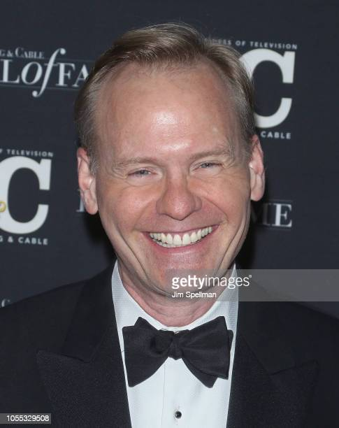 Journalist John Dickerson attends the 28th Annual Broadcasting and Cable Hall of Fame Awards at The Ziegfeld Ballroom on October 29, 2018 in New York...