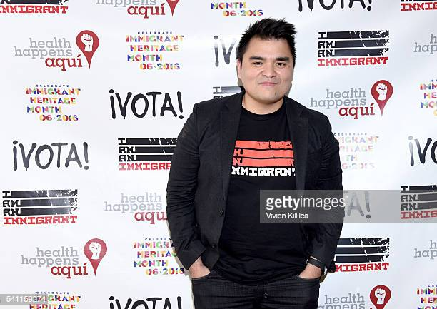 Journalist Jose Antonio Vargas attends I Am An Immigrant A Celebration Of Our Stories a live performance celebrating immigrants and the immigrant...