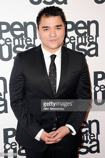 Journalist Jose Antonio Vargas attends Pen Center USA's 24th Annual Literary Awards Festival at the Beverly Wilshire Four Seasons Hotel on November...