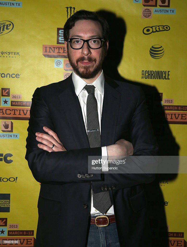 Journalist Joshua Topolsky attends the Julie Uhrman + Josh Topolsky Keynote during the 2013 SXSW Music, Film + Interactive Festival at Austin Convention Center on March 11, 2013 in Austin, Texas.