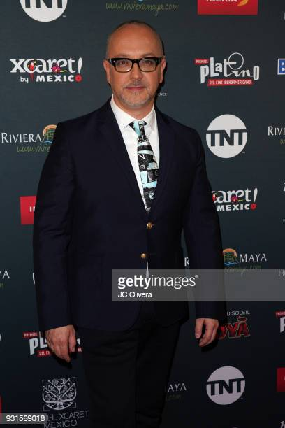 Journalist Juan Carlos Arciniegas attends the 5th Annual Premios PLATINO Of Iberoamerican Cinema Nominations Announcement at Hollywood Roosevelt...