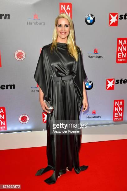 Journalist Judith Rakers attends the Nannen Award 2017 on April 27 2017 in Hamburg Germany