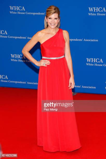 Journalist Kate Snow attends the 2017 White House Correspondents' Association Dinner at Washington Hilton on April 29 2017 in Washington DC