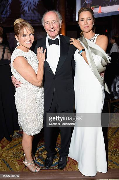 Journalist Katie Couric Anthony Pantaleoni and UNICEF Ambassador Tea Leoni attend 11th Annual UNICEF Snowflake Ball Honoring Orlando Bloom Mindy...