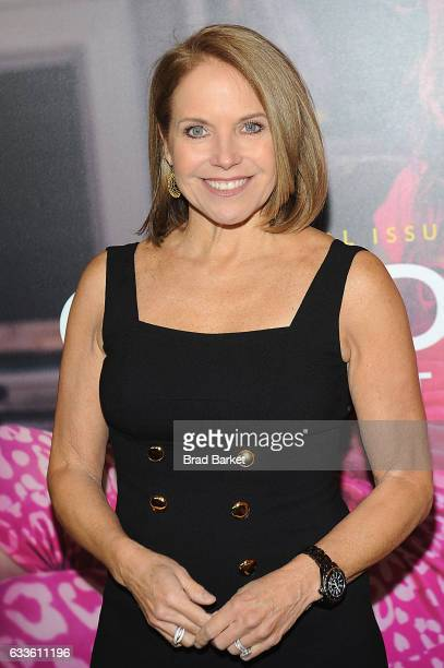 Journalist Katie Couric attends as National Geographic hosts the world premiere screening of 'Gender Revolution A Journey With Katie Couric' on...