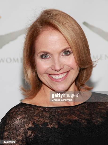 Journalist Katie Couric attends the 2011 Women For Women International Gala at The Museum of Modern Art on November 17 2011 in New York City