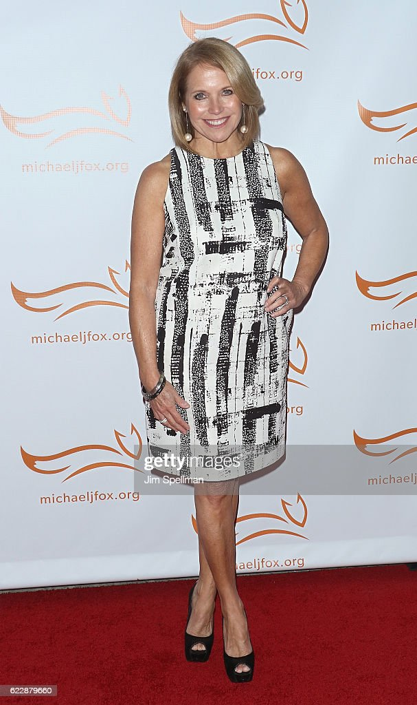Journalist Katie Couric attends the 2016 A Funny Thing Happened On The Way To Cure Parkinson's at The Waldorf Astoria on November 12, 2016 in New York City.