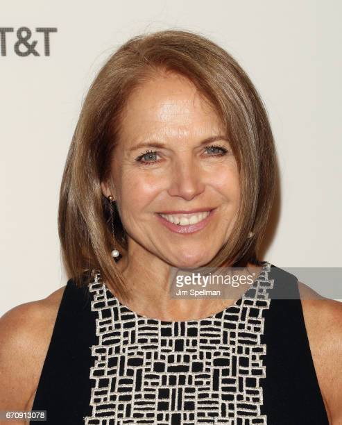 Journalist Katie Couric attends the 2017 Tribeca Film Festival Genius screening at BMCC Tribeca PAC on April 20 2017 in New York City