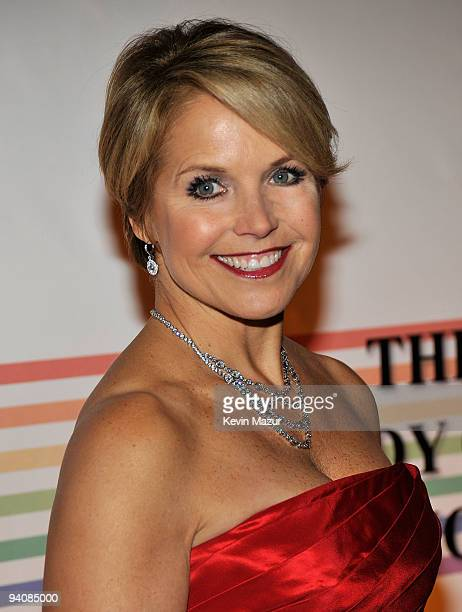 Journalist Katie Couric attends the 32nd Kennedy Center Honors at Kennedy Center Hall of States on December 6 2009 in Washington DC