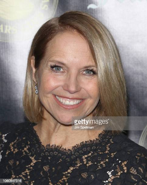 Journalist Katie Couric attends the Friar's Club Entertainment Icon Award at The Ziegfeld Ballroom on November 12 2018 in New York City