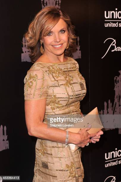 Journalist Katie Couric attends The Ninth Annual UNICEF Snowflake Ball at Cipriani Wall Street on December 3 2013 in New York City