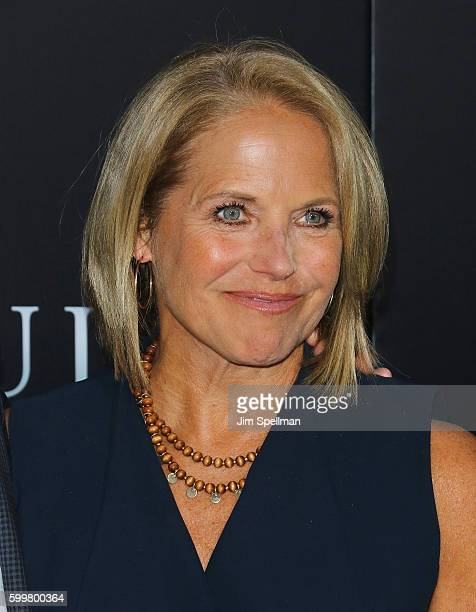 """Journalist Katie Couric attends the """"Sully"""" New York premiere at Alice Tully Hall, Lincoln Center on September 6, 2016 in New York City."""