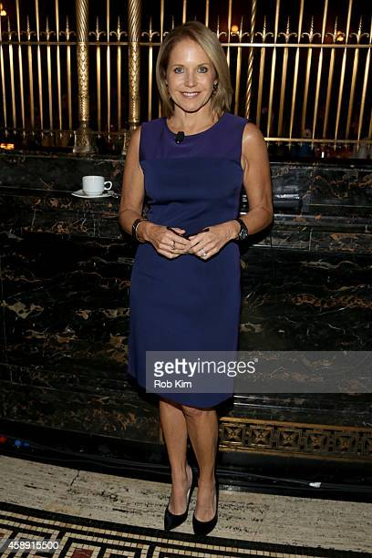 Journalist Katie Couric attends Touchscreen Generation How Technology Affects Our Kids' Social/Emotional Learning And What We Can Do About It at...