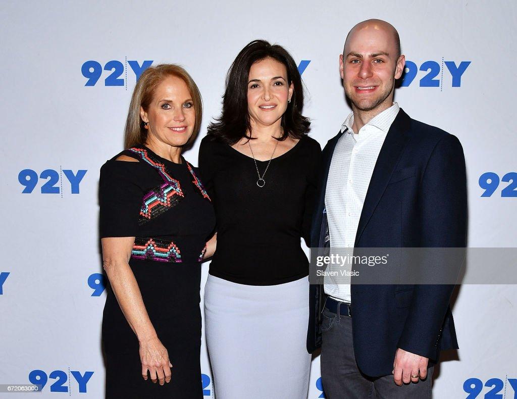Sheryl Sandberg And Adam Grant In Conversation With Katie Couric