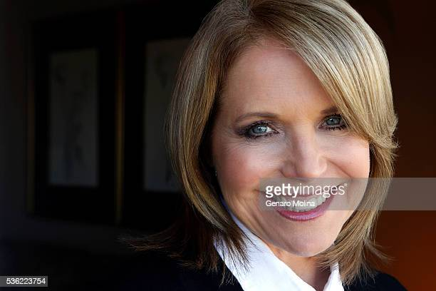 Journalist Katie Couric is photographed for Los Angeles Times on May 2 2016 in Beverly Hills California PUBLISHED IMAGE CREDIT MUST READ Genaro...