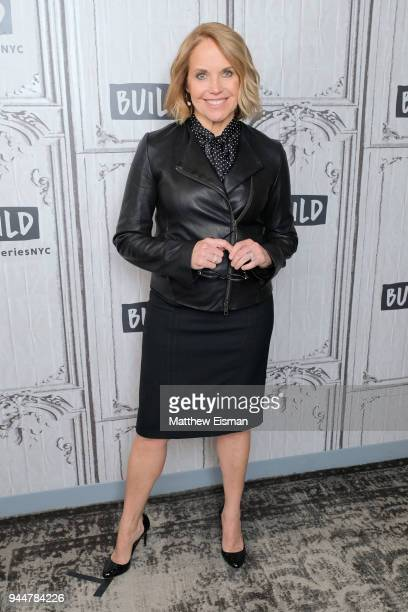 Journalist Katie Couric visits BUILD Series to discuss her new TV series America Inside Out with Katie Couric on April 11 2018 in New York City