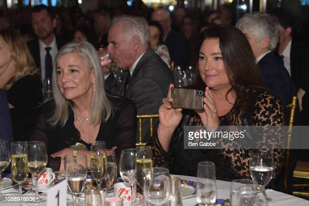 Journalist Keely Shaye Smith and Sharon Rose Smith attend the 2018 Innovation Gala where Chemotherapy Foundation honors Actor Producer and...